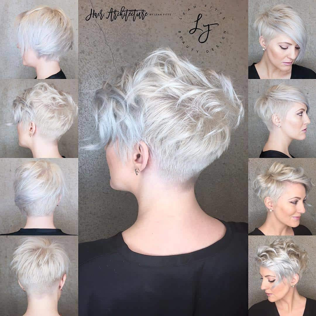 Short Hairstyles Front And Back View 2019  Short Hairstyles for Women 2018 2019 Short and Cuts
