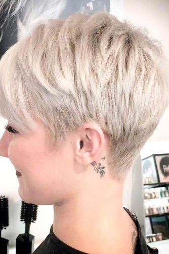 Short Hairstyles Front And Back View 2019  Short Hairstyles for Round Faces 2019 45 Haircuts for
