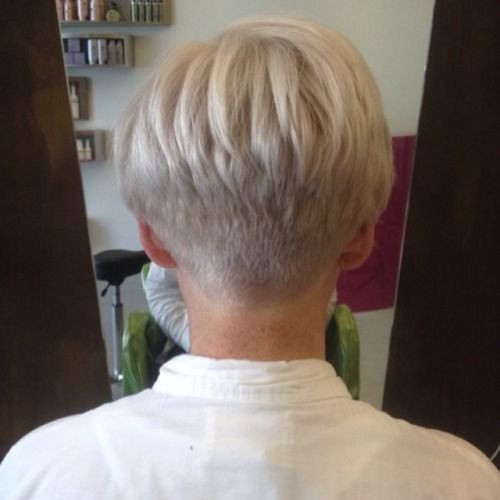 Short Hairstyles Front And Back View 2019  Love the back view of this cut
