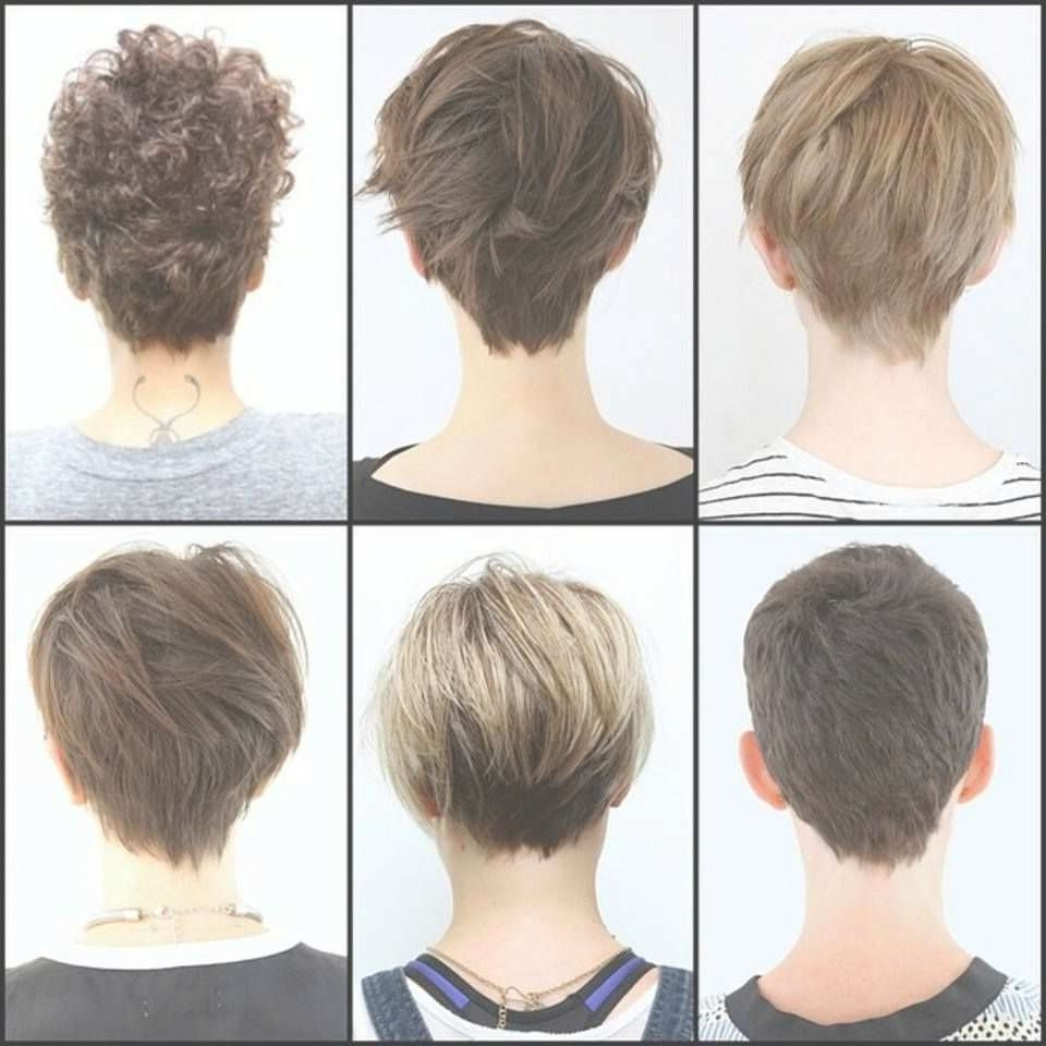 Short Hairstyles Front And Back View 2019  2019 Latest Back View Pixie Hairstyles