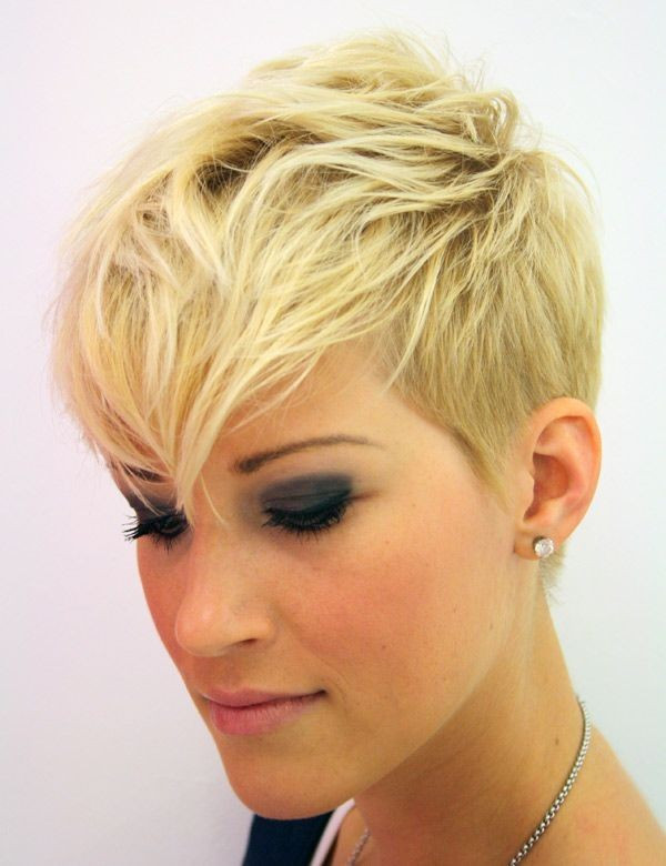 Short Hairstyles With Shaved Sides  22 Hottest Short Hairstyles for Summer 2015