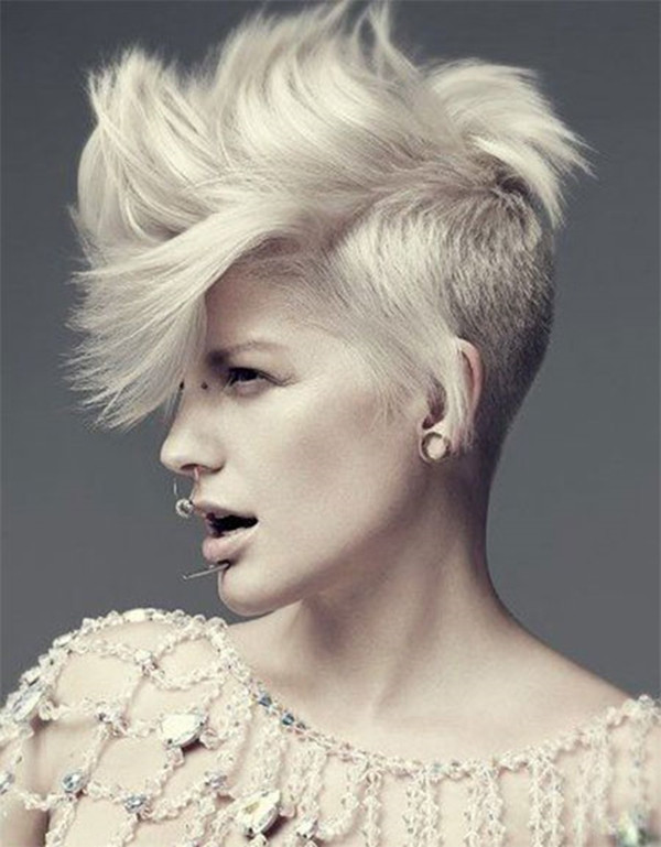 Short Hairstyles With Shaved Sides  52 of the Best Shaved Side Hairstyles