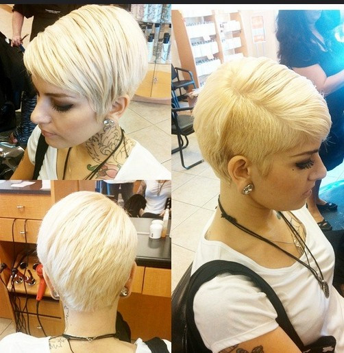 Short Hairstyles With Shaved Sides  60 Best Hairstyles for 2015 PoPular Haircuts