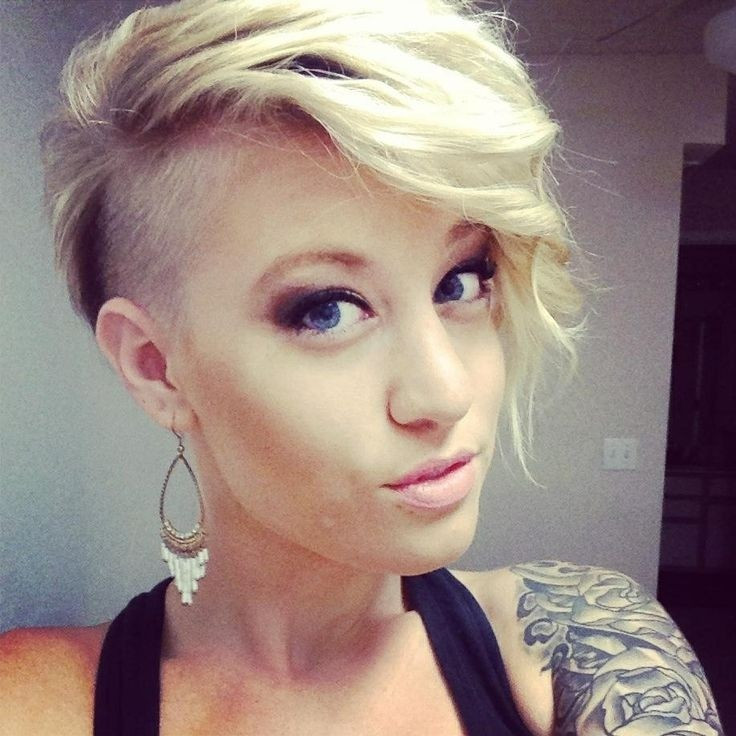 Short Hairstyles With Shaved Sides  26 Best Haircuts for Women Pretty Designs