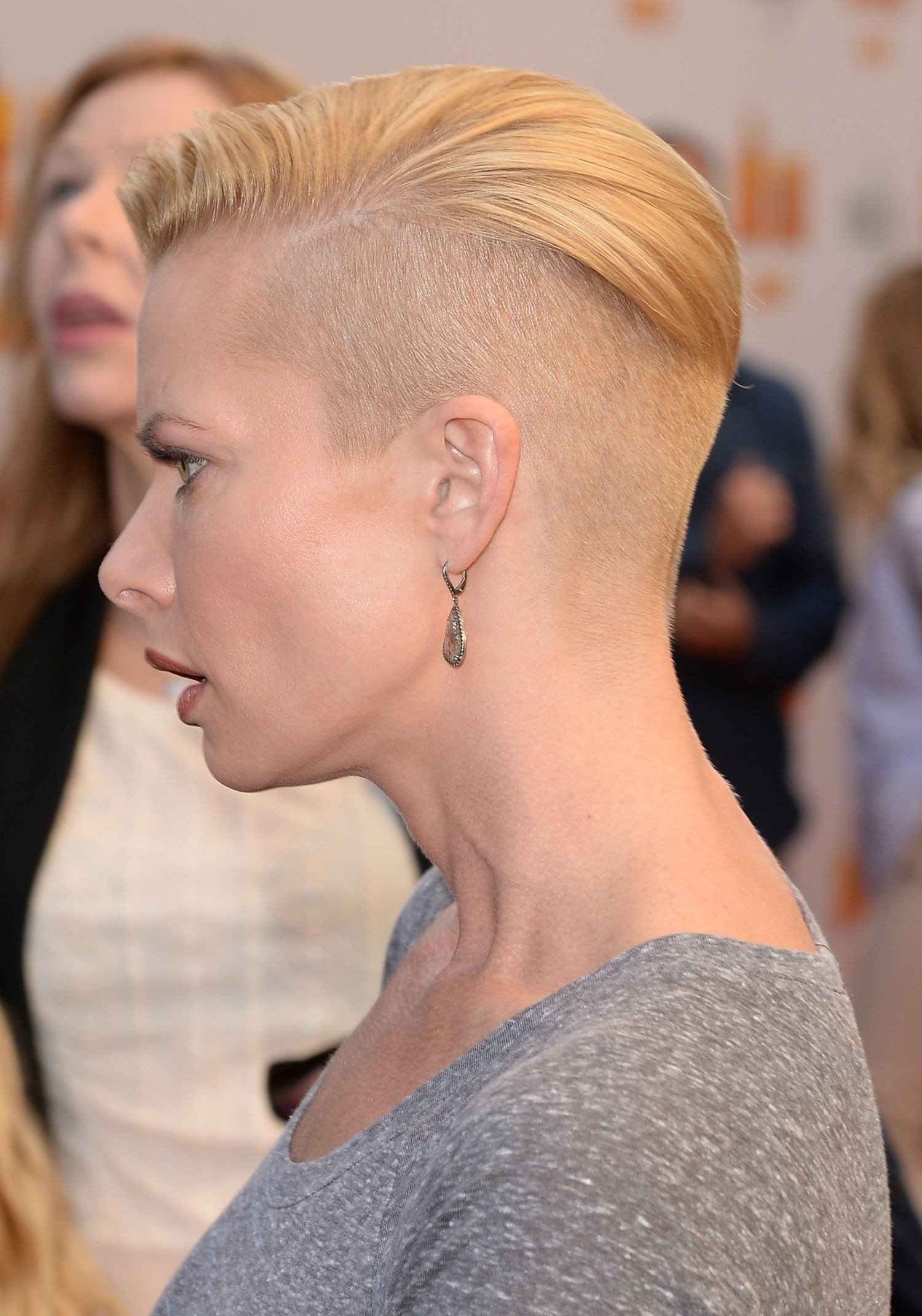 Short Hairstyles With Shaved Sides  Half Shaved Head Hairstyle Short HairStyles