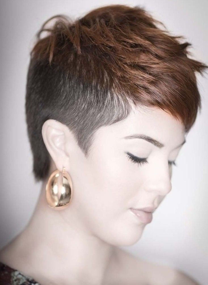 Short Hairstyles With Shaved Sides  20 Shaved Hairstyles For Women Feed Inspiration
