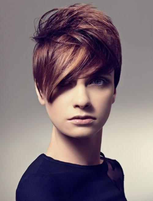 Short Highlights Hairstyles  30 Sensational Short Hairstyles For Oval Faces