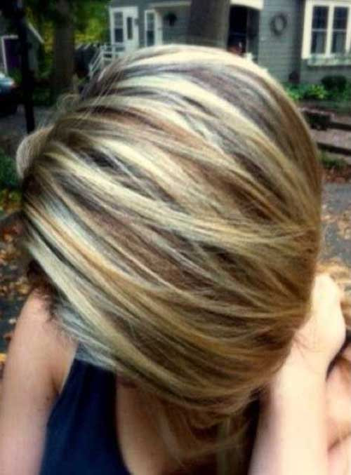 Short Highlights Hairstyles  20 Highlighted Bob Hairstyles