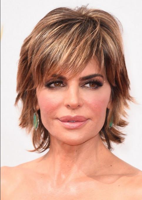 Short Layered Haircuts For Thick Hair  40 Celebrity Short Hairstyles Short Hair Cut Ideas for
