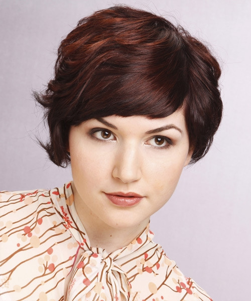 Short Layered Haircuts For Thick Hair  30 y Short Hairstyles For Thick Hair