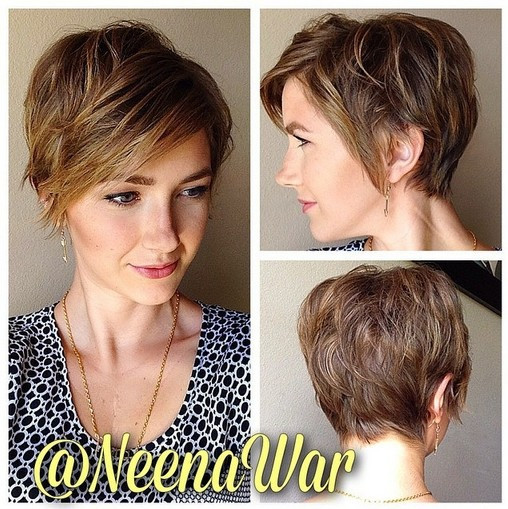 Short Layered Haircuts For Thick Hair  60 Best Hairstyles for 2018 Trendy Hair Cuts for Women