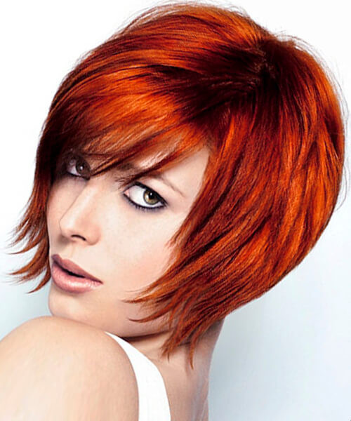 Short Layered Haircuts For Thick Hair  Hairstyles for bobs thick hair and fine hair