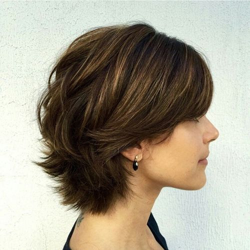 Short Layered Haircuts For Thick Hair  60 Classy Short Haircuts and Hairstyles for Thick Hair