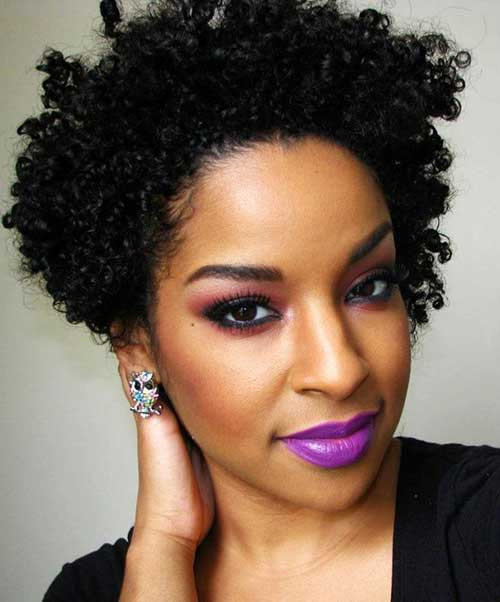 Short Naturally Curly Hairstyles  25 Short Curly Afro Hairstyles