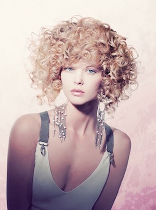 Short Naturally Curly Hairstyles  Curly Short Haircuts for 2013
