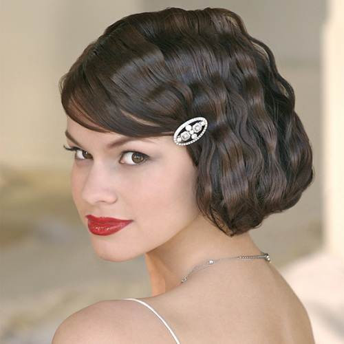 Short Retro Hairstyle  Short Vintage Hairstyles with Bangs