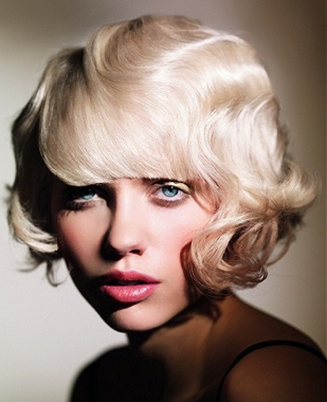 Short Retro Hairstyle  Vintage hairstyles for short hair