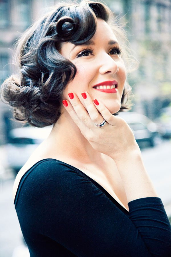 Short Retro Hairstyle  Cute Retro Hairstyles For Fashion Girl