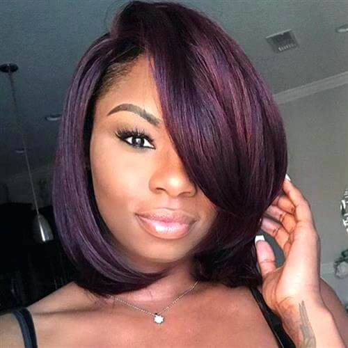Short Sew In Hairstyles With Invisible Part  hairstyles sew in Hairstyle & Tatto Inspiration for You