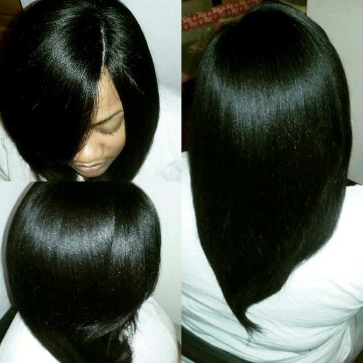 Short Sew In Hairstyles With Invisible Part  Short sew in hairstyles with invisible part