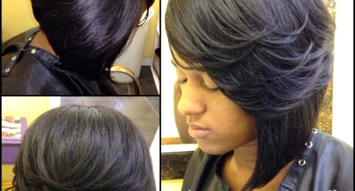 Short Sew In Hairstyles With Invisible Part  Unique Sew In Hairstyles With Invisible Part Sew In
