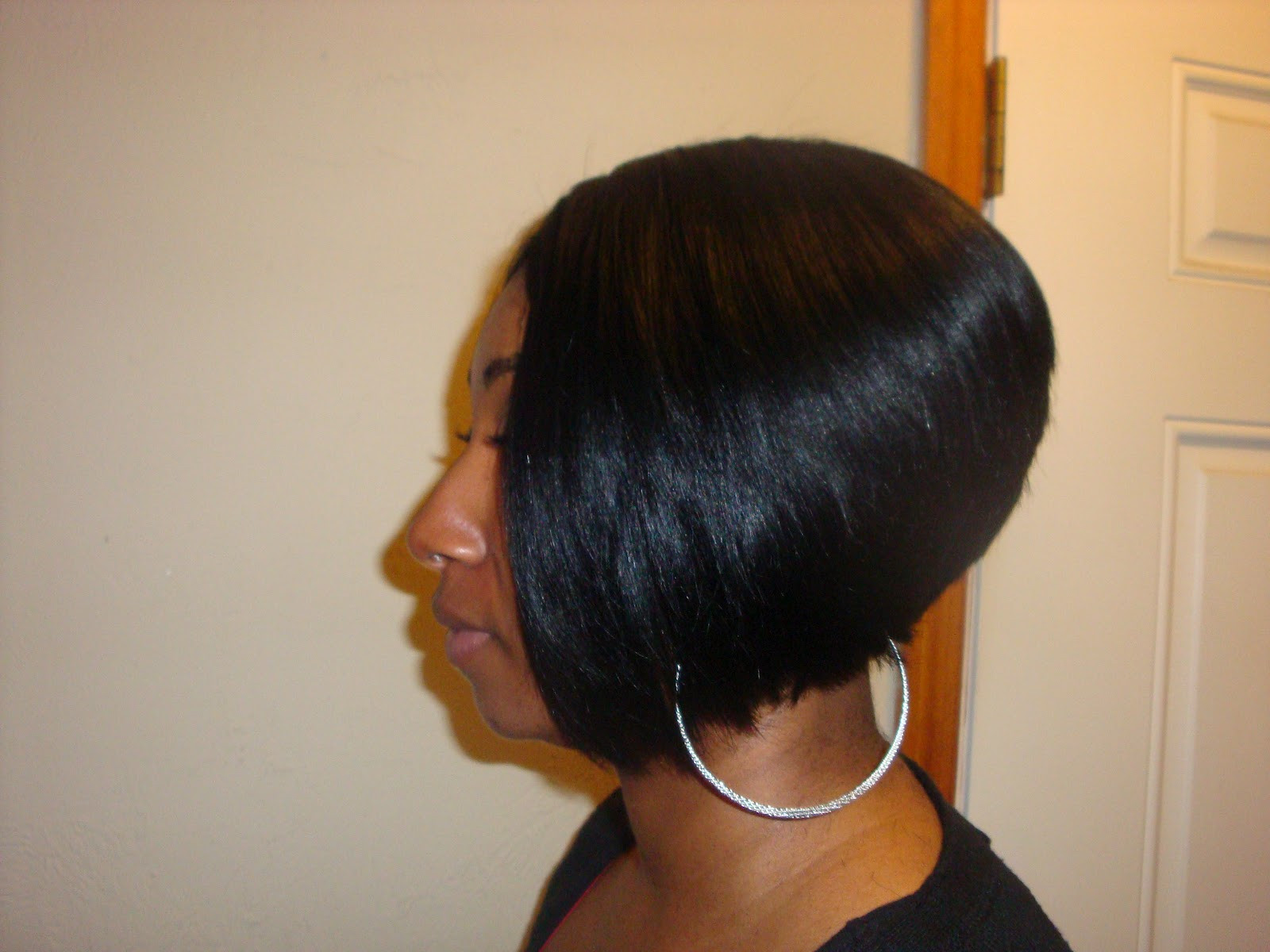 Short Sew In Hairstyles With Invisible Part  YINKA S ULTIMATE HAIR DESIGNS Look Book Sew ins Bobs