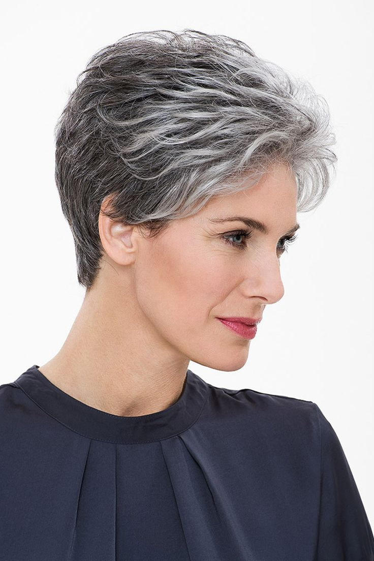 Best ideas about Short To Midlength Haircuts For Fine Hair Thats Going Grey . Save or Pin 50 Short Black And Grey Ombre Hairstyles 42 Nona Gaya Now.