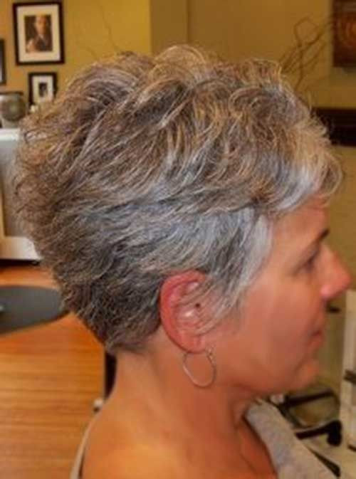 Best ideas about Short To Midlength Haircuts For Fine Hair Thats Going Grey . Save or Pin Short Haircuts for Grey Hair hair styles Now.