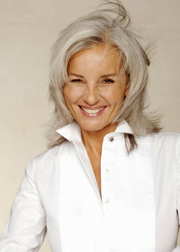 Best ideas about Short To Midlength Haircuts For Fine Hair Thats Going Grey . Save or Pin 21 Impressive Gray Hairstyles For Women Feed Inspiration Now.