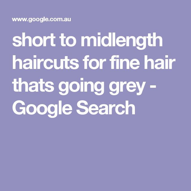 Best ideas about Short To Midlength Haircuts For Fine Hair Thats Going Grey . Save or Pin 25 best Short Grey Haircuts ideas on Pinterest Now.