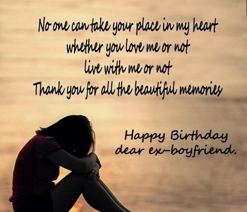 Best ideas about Should I Wish My Ex Happy Birthday . Save or Pin 45 Happy Birthday Ex Boyfriend Wishes Now.