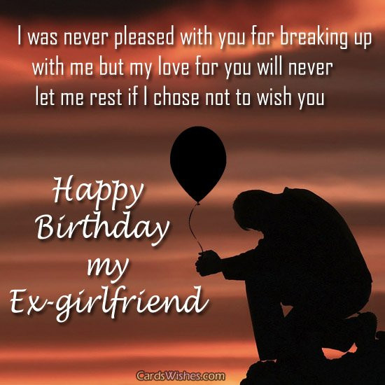 Best ideas about Should I Wish My Ex Happy Birthday . Save or Pin Happy Birthday Wishes for My Ex GF Todayz News Now.