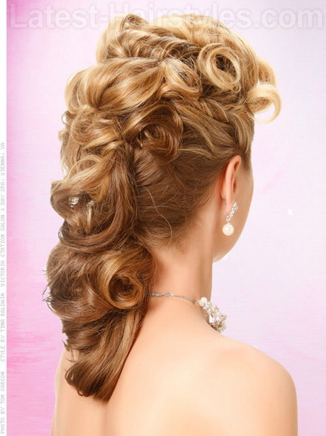 Side Hairstyles For Prom  Prom side hairstyles
