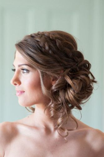 Side Hairstyles For Prom  40 Hairstyles for Prom Night with Braids and Curls