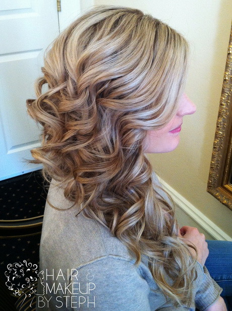 Side Hairstyles For Prom  Prom side hairstyles for long hair