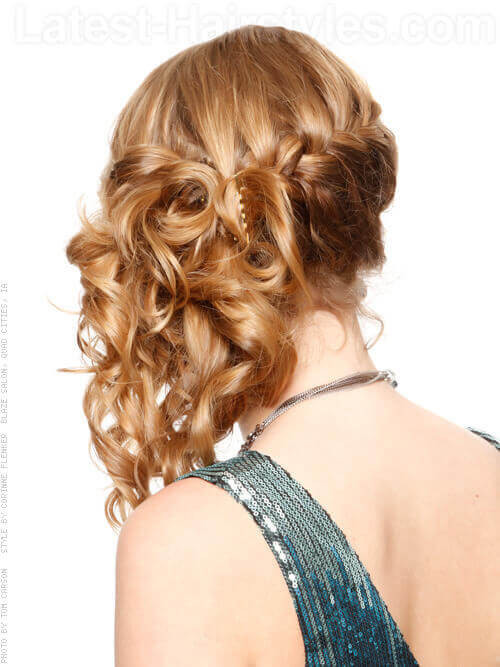 Side Hairstyles For Prom  30 Elegant Prom Hairstyles Style Arena