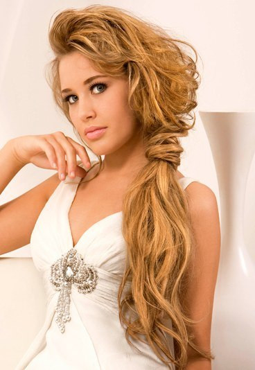 Side Hairstyles For Prom  Most Delightful Prom Hairstyles for Long Hair Ideas 2015