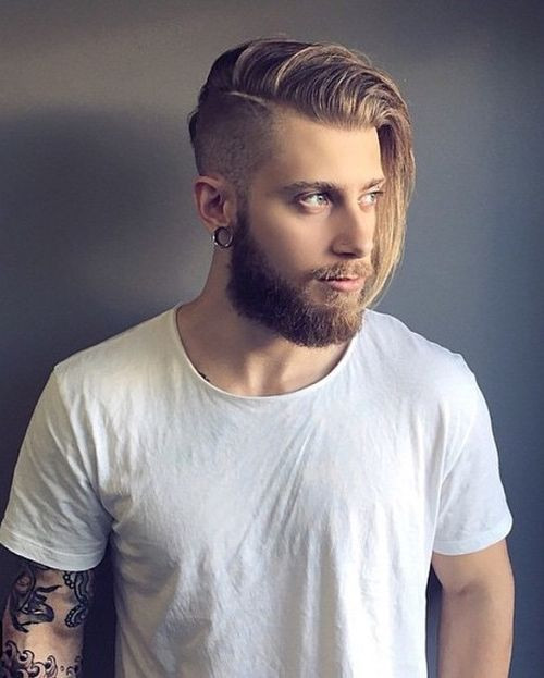 Side Shaved Hairstyle Male  50 Must Have Medium Hairstyles for Men