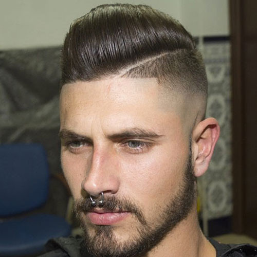 Side Shaved Hairstyle Male  Shaved Sides Hairstyles For Men