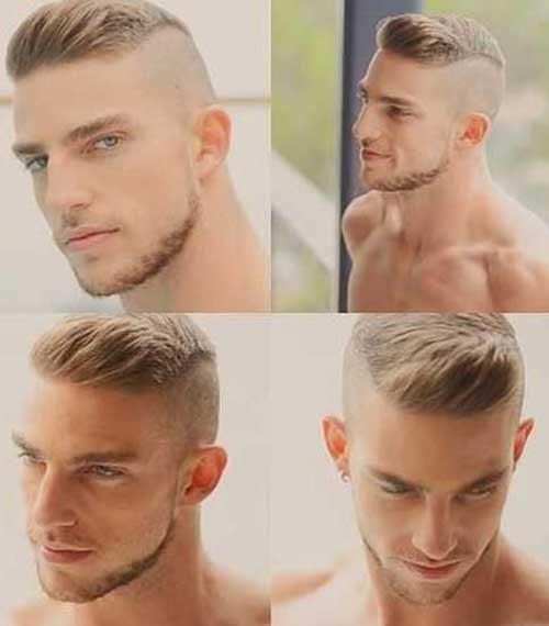 Side Shaved Hairstyle Male  10 Mens Shaved Side Hairstyles