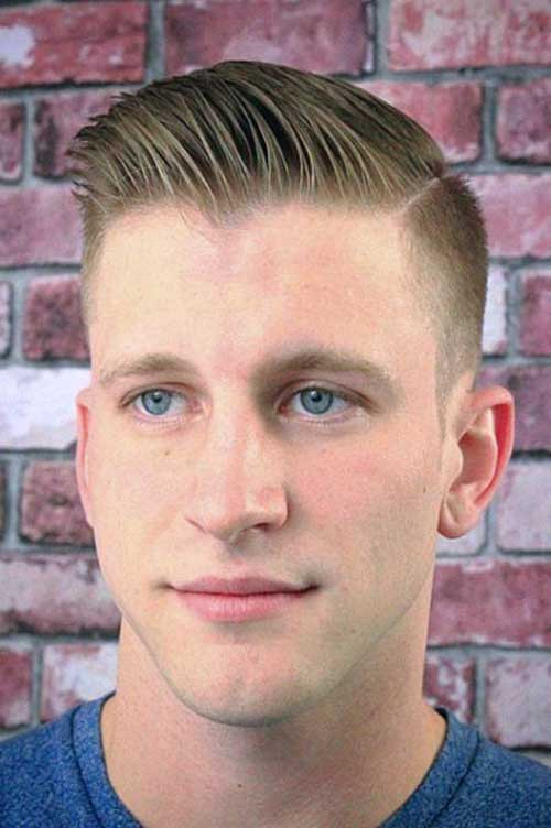 Side Shaved Hairstyle Male  Shaved Side Hairstyles Men