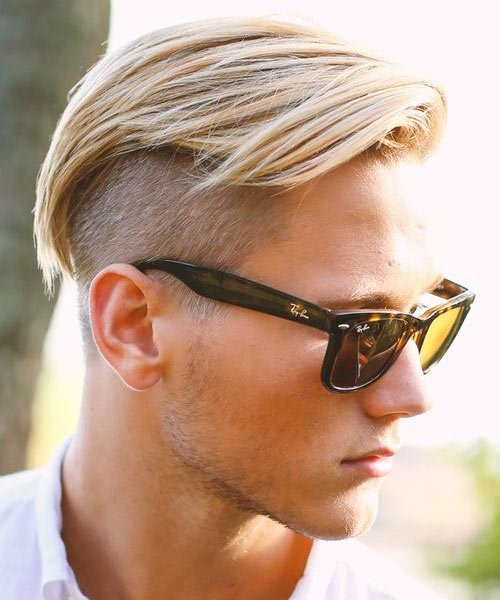 Side Shaved Hairstyle Male  Men's Hairstyle Trends 2016