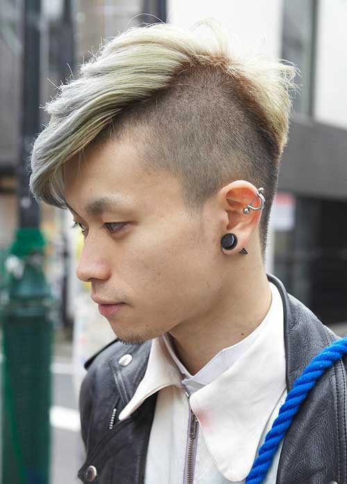 Side Shaved Hairstyle Male  Shaved side hairstyle men Hairstyle for women & man