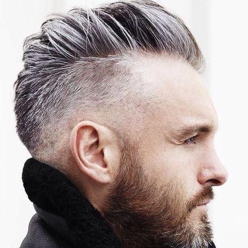 Side Swept Undercut Hairstyle  Side Swept Undercut