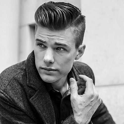 Side Swept Undercut Hairstyle  15 Manly Side Swept Undercuts for 2017 HairstyleVill