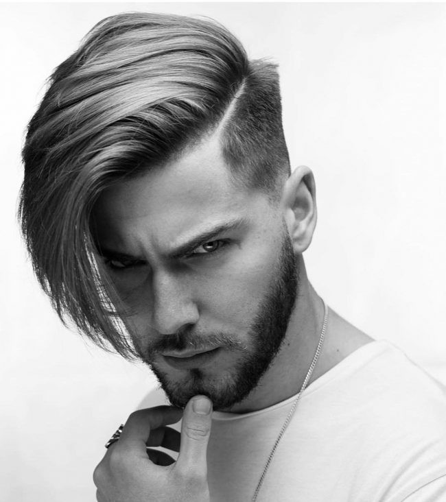 Side Swept Undercut Hairstyle  60 Gorgeous Side Swept Hairstyles Neat& y 2019