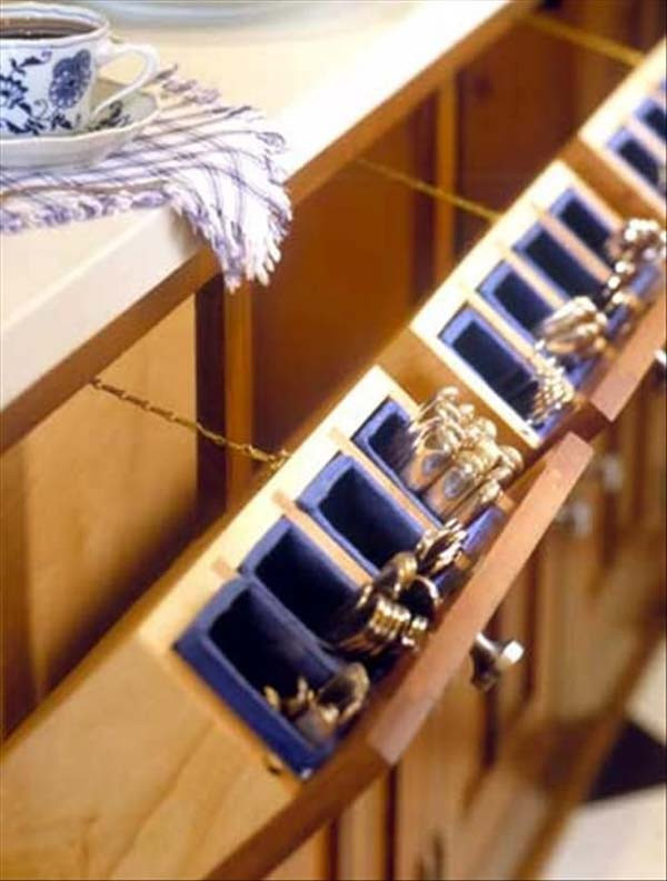 Best ideas about Silverware Storage Ideas . Save or Pin Top 27 Clever and Cute DIY Cutlery Storage Solutions Now.