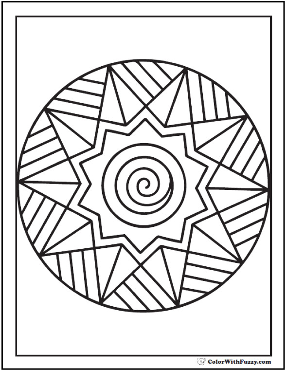 Simple Adult Coloring Pages  42 Adult Coloring Pages Customize Printable PDFs