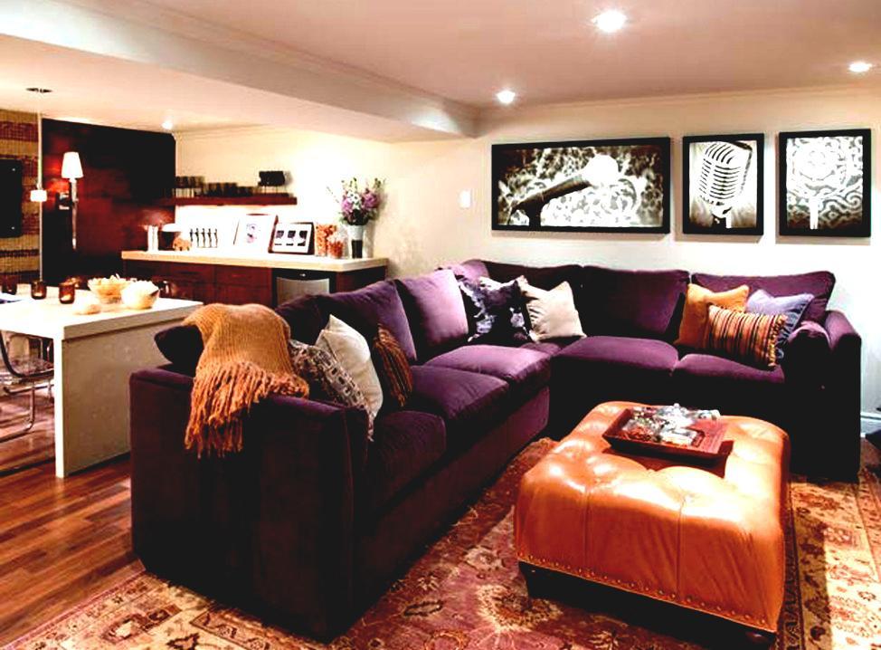 Best ideas about Simple Basement Ideas . Save or Pin Decorative Simple Basement Design Ideas Basement D Now.