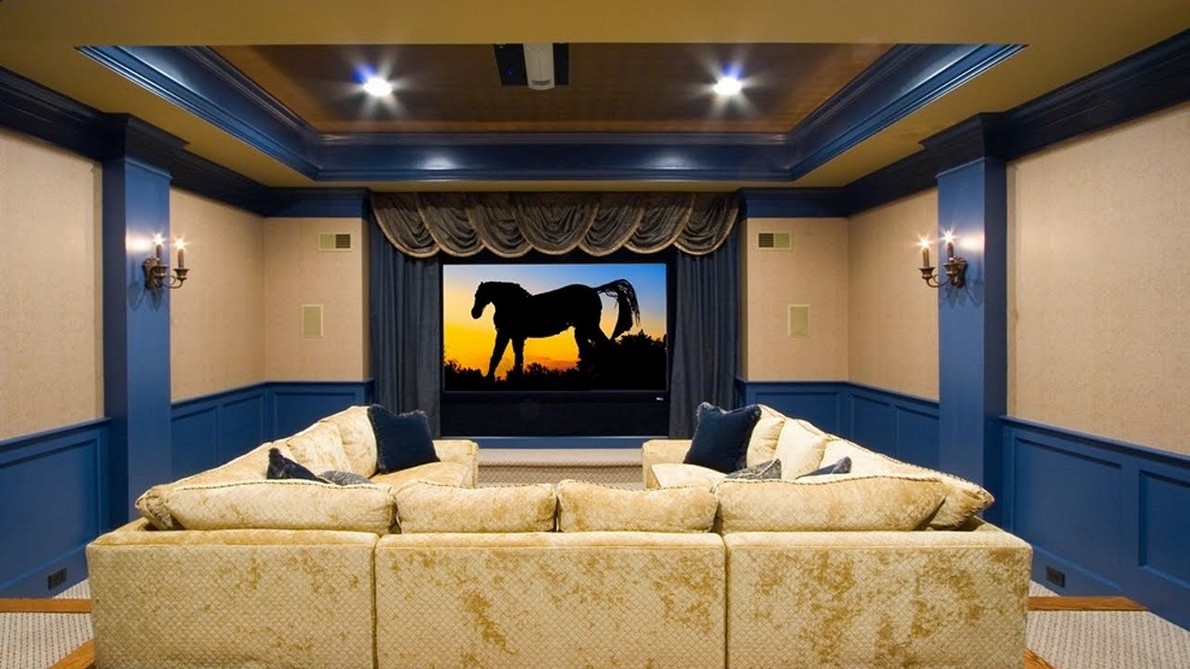 Best ideas about Simple Basement Ideas . Save or Pin Home Theater Ideas for Simple Application HomeStyleDiary Now.